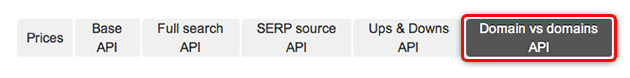 SEMrush: Domain Rank History  and Domain vs. Domain are now available through the API! image 1