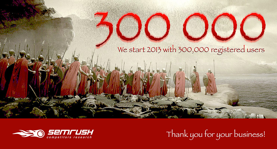 SEMrush: A GIFT OF PRO TO OUR 300,000th HERO! image 1