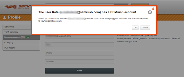 SEMrush: SEMrush Corporate Plans: Create Your Own Product! image 4