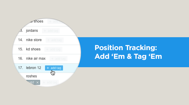 Position Tracking improved interface news picture