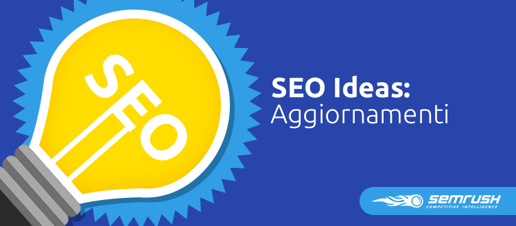 SEMrush: SEO Ideas: la feature di re-crawl per una pagina singola  immagine 1