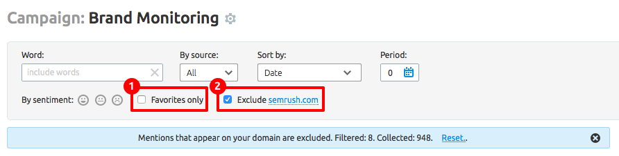 SEMrush: Brand Monitoring: Domain Exclusion and Other Updates image 3
