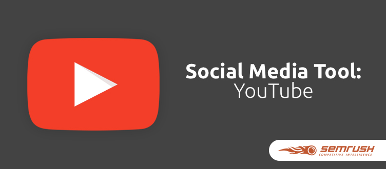 SEMrush: Social Media Tool: Salute, YouTube! image 1