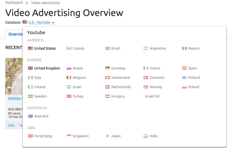SEMrush: Brand New US & UK Databases: Video Advertising image 2