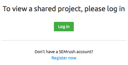 SEMrush: SEMrush Projects: the Pre-release of our Sharing Feature  immagine 4