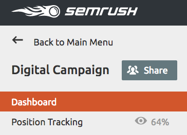 SEMrush: SEMrush Projects: the Pre-release of our Sharing Feature  immagine 3