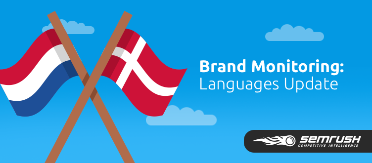 SEMrush: Brand Monitoring: Tracking In 8 Languages image 1