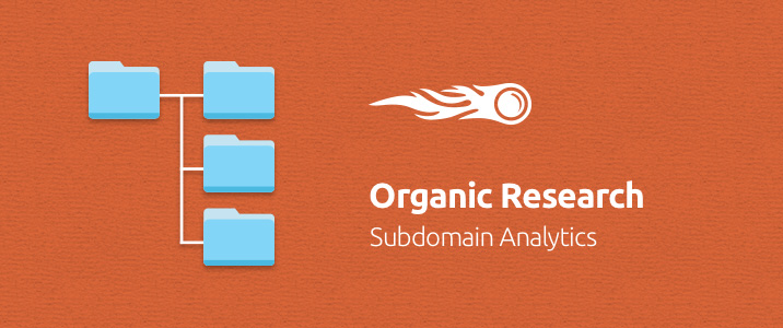 SEMrush: Organic Research: Subdomain Analytics image 1