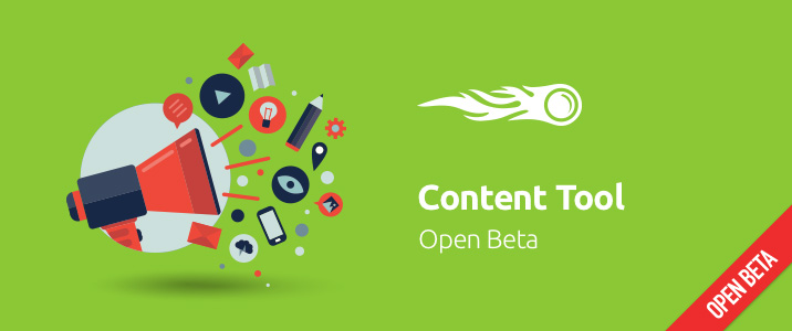 SEMrush: Content Tool: open Beta immagine 1