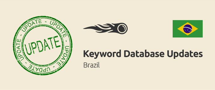 SEMrush: Keyword Database Updates: Brazil imagen 1