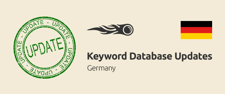 SEMrush: Keyword Database Updates: Germany immagine 1