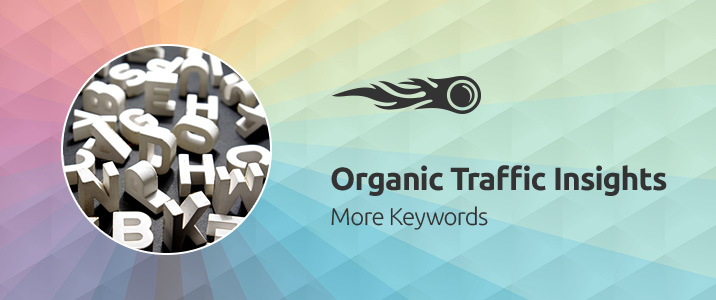 SEMrush: Organic Traffic Insights: More Keywords bild 1
