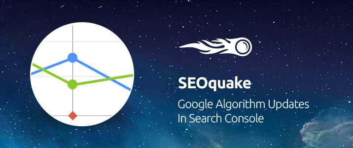 SEMrush: SEOquake: Google Algorithm Updates in Search Console imagen 1