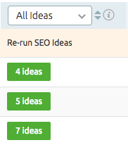 SEMrush: SEO Ideas: the Single Page Re-Crawl feature image 4
