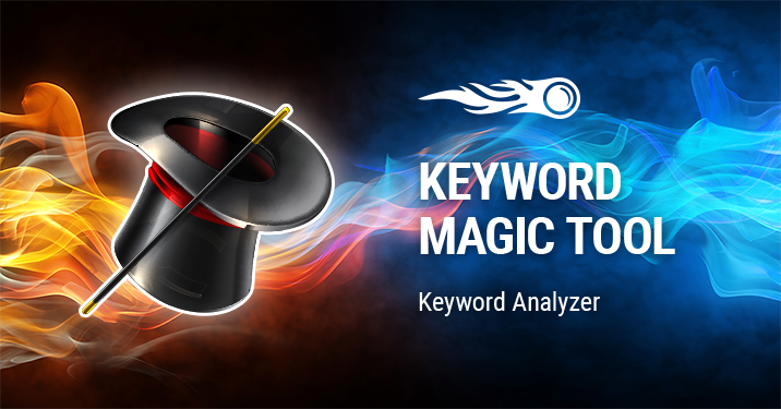 SEMrush: Keyword Magic: Keyword Analyzer image 1