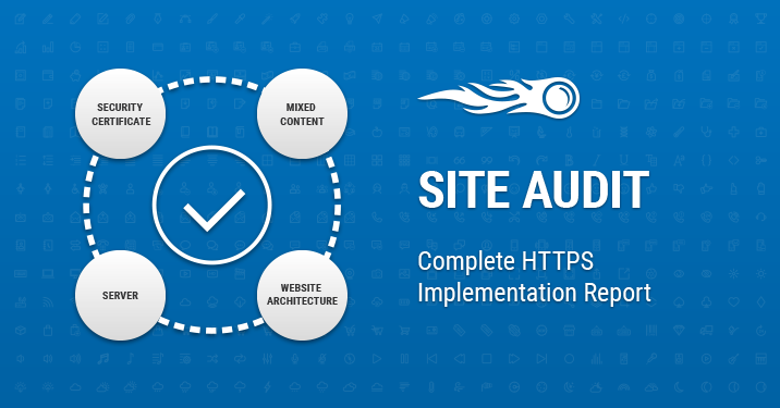 Site Audit Complete HTTPS Implementation report banner