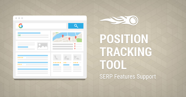 Position Tracking: SERP Features support banner