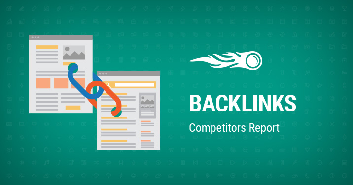 Backlinks Competitors report banner